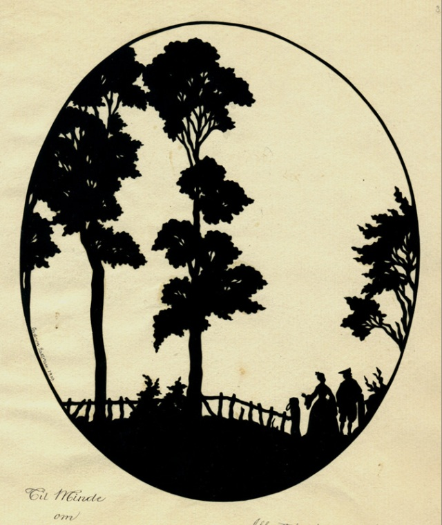 "Gurdrun Jastrau: ""All Art is at Once Surface and Symbol!"", paper cut-out; 1919"