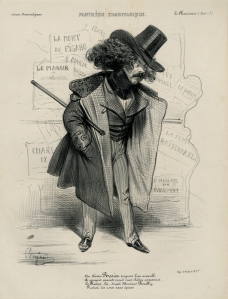 "Benjamin Roubaud: ""...Rosier... (from: Pantheon Chrivarique)"", circa 1840; lithograph. $300"