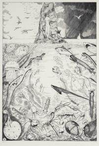 "Jean-Emile Laboureur: ""Andromêde"", 1935; engraving. $2,000"