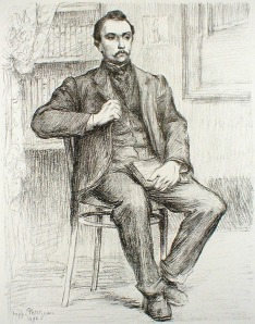 "Hippolyte Petitjean: ""Maurice Maeterlinck"", 1898; lithograph. $450"