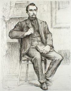 "Hippolyte Petitjean: ""Maurice Maeterlinck"", 1898; lithograph. $450"