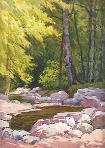 Mill Creek, Headsburg