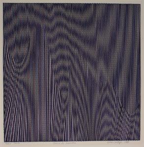 Jean Lodge: Jeux de lumiere; 1969; mixed technique color etching; $750.