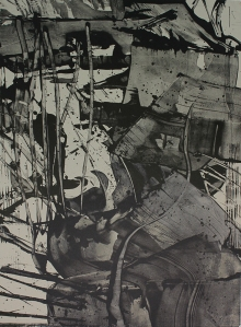 Roland Ginzel: Untitled; 1981; lithograph; $450.
