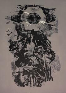 Romas Viesulas: Traje de Luces; 1960; color lithograph; $500.