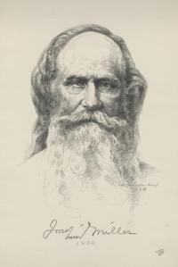 Peter Van Valkenburgh: Joachim Miller 1900; 1939; lithograph; $225.