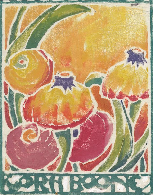 5.  Cora Boone  (American 1871-1953)  (Ranunculus)