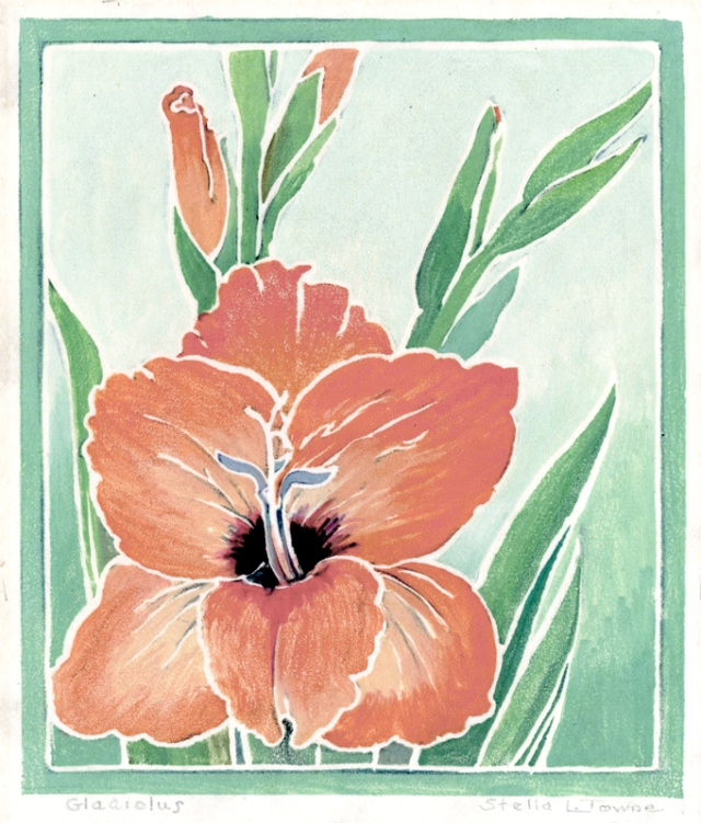 24. Stella Loveland Towne  (American 1890-1986)  Gladiolus