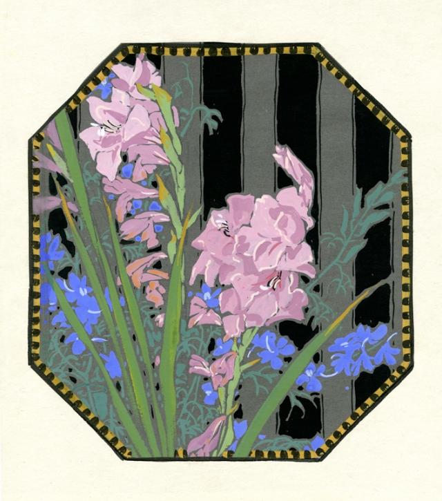 2.  Gustave Baumann  (American 1881-1971)  Iris