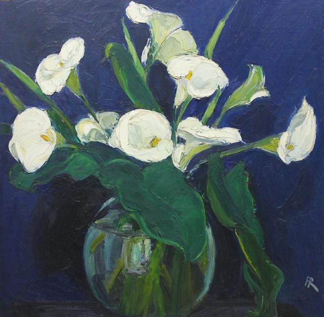 17.  Augusta Rathbone  (American 1897-1990)   Calla Lilies